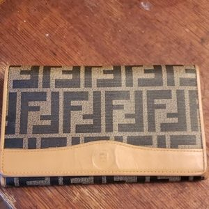 Vintage Fendi Bifold Wallet